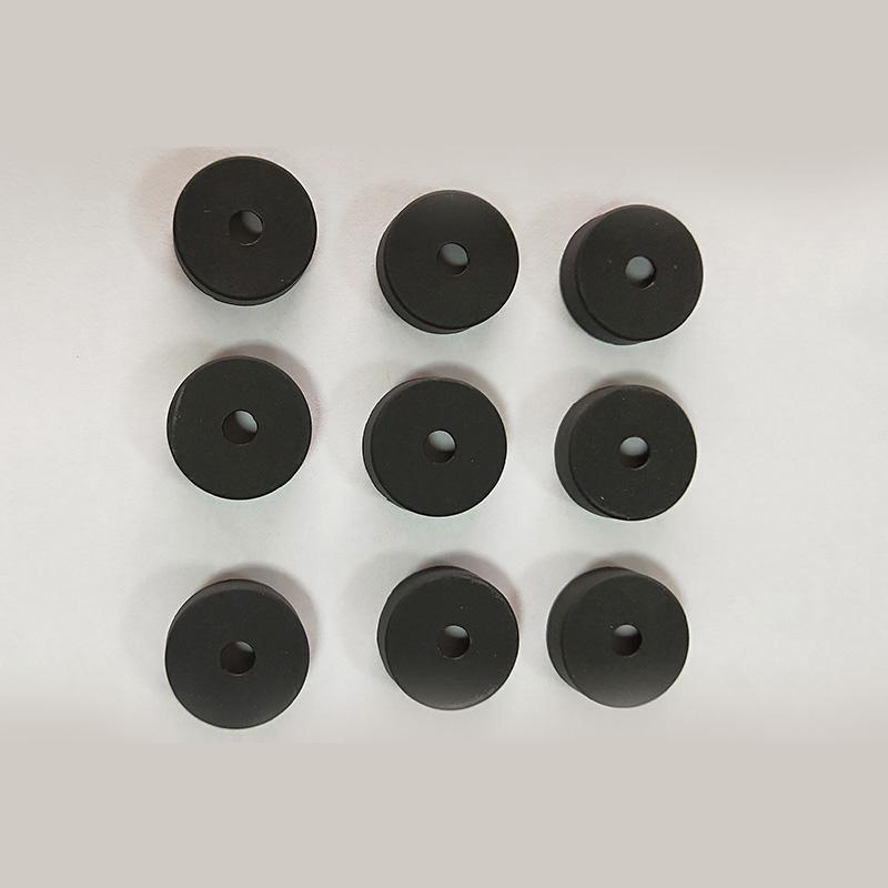 黑色硅胶帽